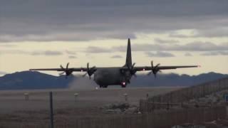 Hercules take off in Nuuk Greenland