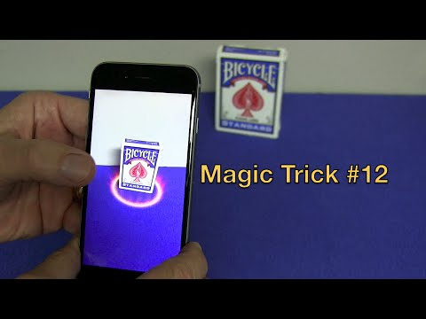 Magic trick 12 app best card trick app ever youtube Majic app