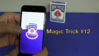 MAGIC TRICK #12 APP - Best Card Trick App EVER!