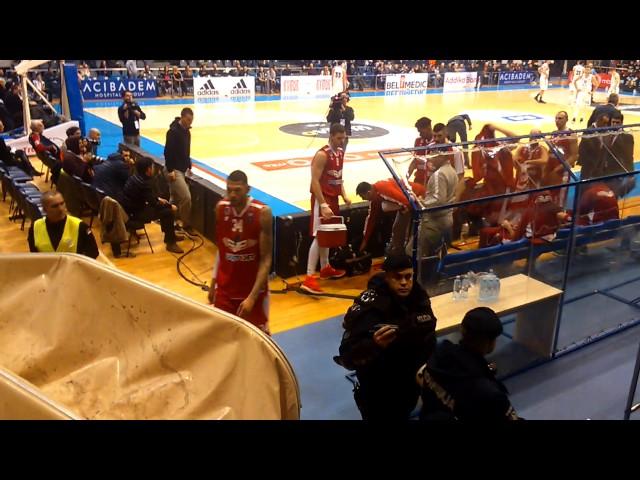Partizan - FMP 97:70 (21.01.2016.) - Prekid utakmice