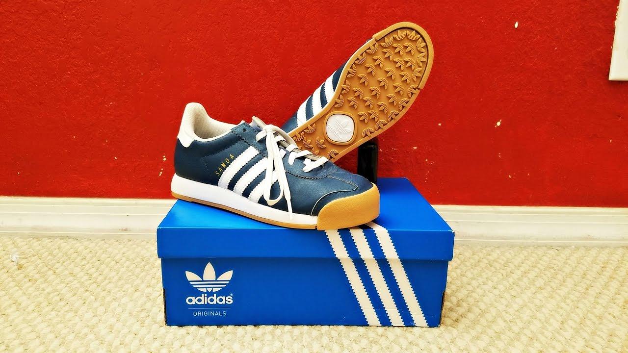 1b3f869c036ace Samoa Adidas Shoe Unboxing