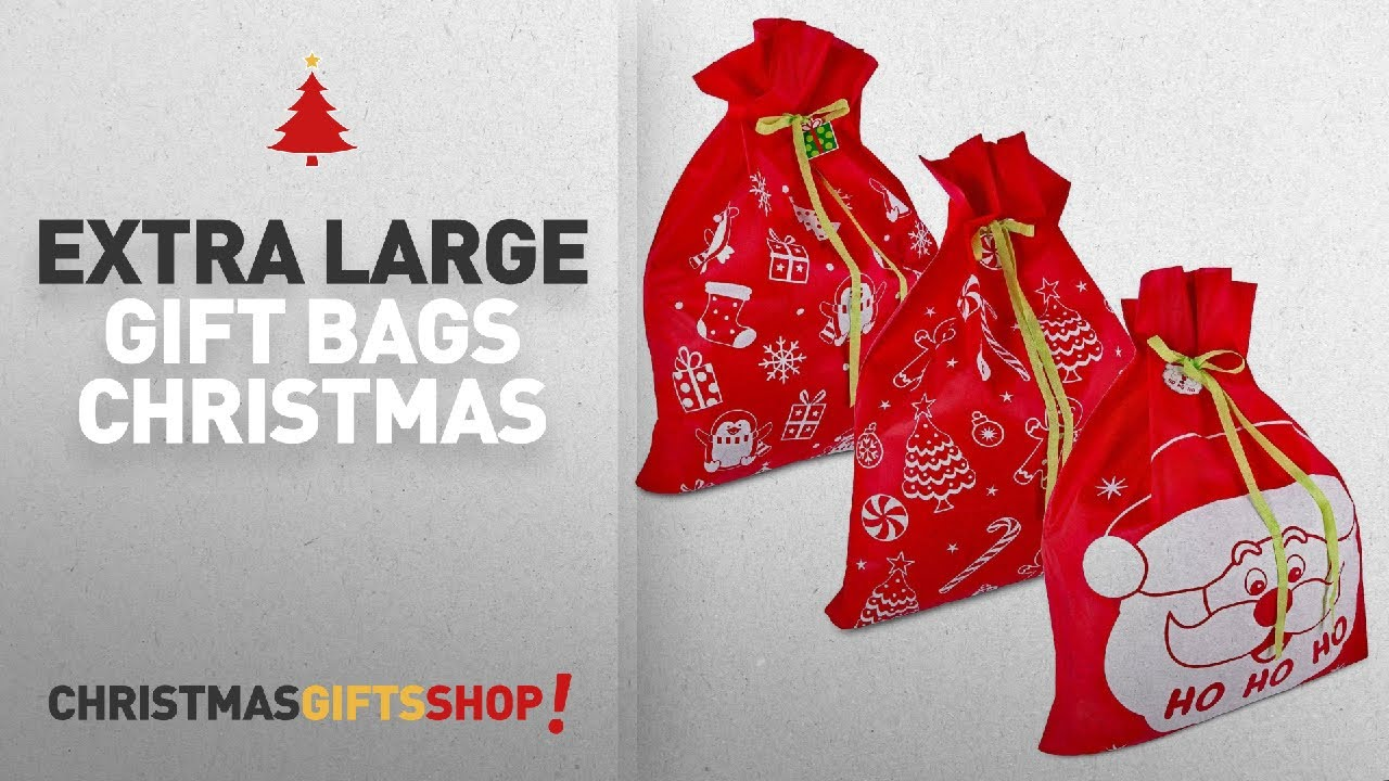 Top Extra Large Gift Bags Christmas Ideas: 3 Giant
