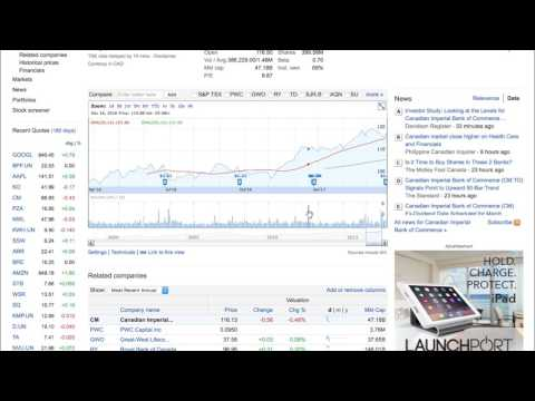 Free Investment Tools: Introduction to Google Finance