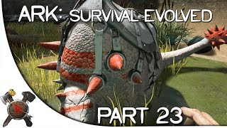 "Ark: Survival Evolved Gameplay - Part 23: ""Armadillo SEX!!"""