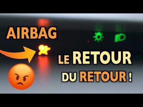 ⚠️Voyant Airbag 😡 Solution Définitive ? 🤔 Twingo