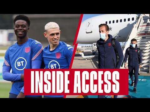 Rondos, Rice's Skill School & Arrivals in Rome! ✈️ Inside Access | England