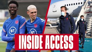 Rondos, Rice's Skill School & Arrivals in Rome! ✈️ Inside Access