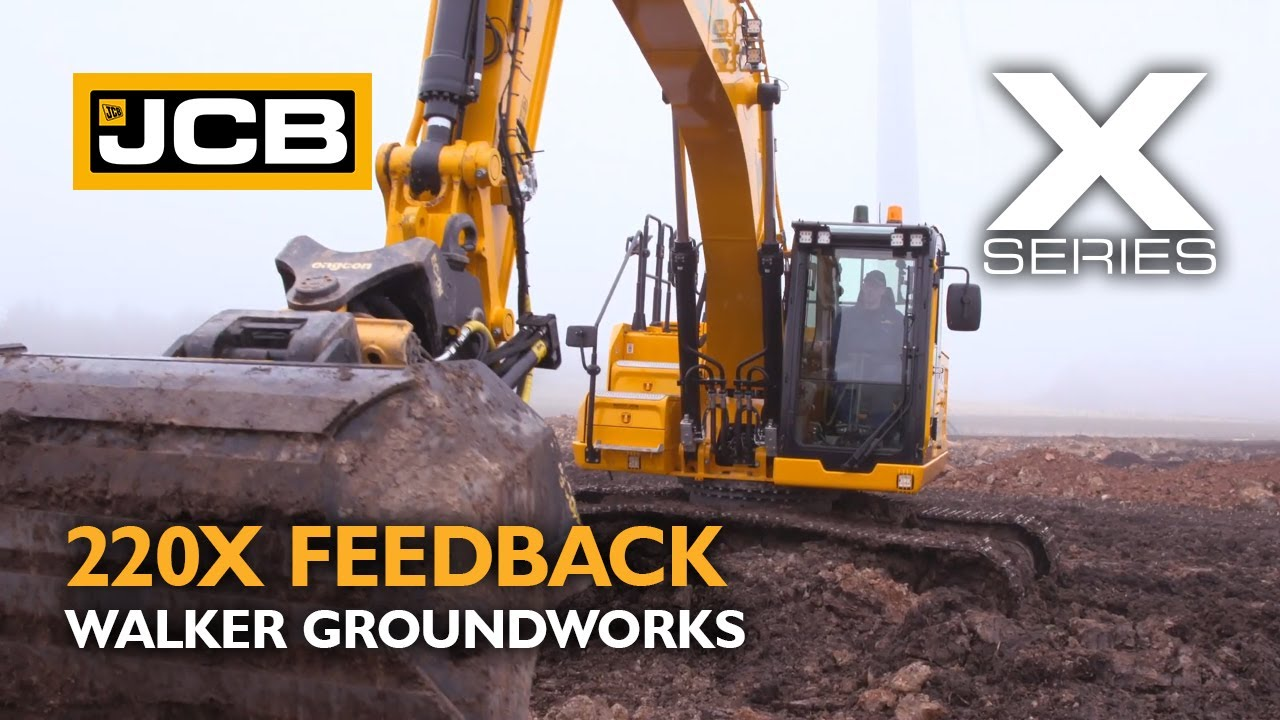 HOW GOOD is the new JCB X Series 220X Excavator? – Walker Groundworks Testimonial