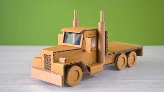 A cardboard truck | how to make a truck using cardboard | DIY