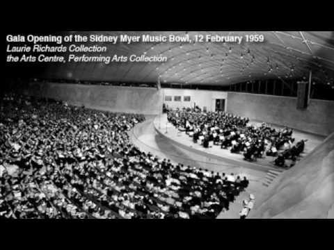 Sir Kenneth Myer's Speech