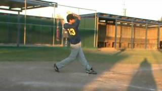 Baseball-JASON CERVANTES-IF-Pitcher-Prospect -South Texas- 2011 Grad-.avi