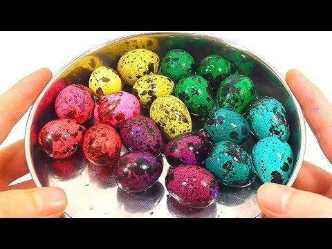 Vua đồ chơi - Tạo những quả trứng chim thật đẹp cho bé