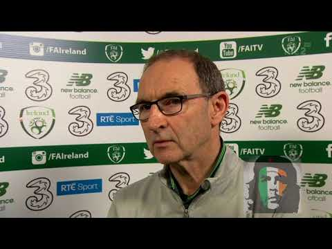 Martin O'Neill Post Match Interview Ireland 1-5 Denmark