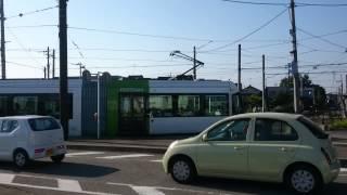 富山ライトレール 奥田中学校前→インテック本社前