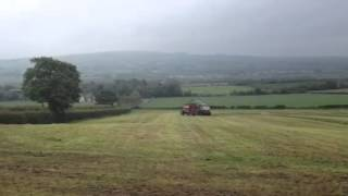 Montgomery contractors lifting late silage 2012