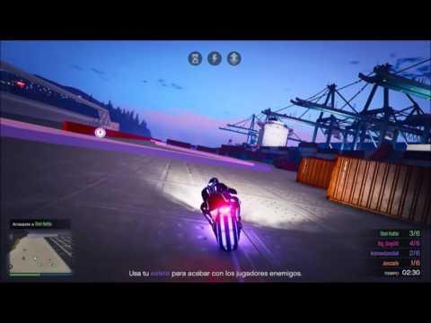 GTA V ONLINE   MOTOS ELECTRICAS D:   NUEVO MODO DE JUEGO   GTANDREWXCANNIBAL