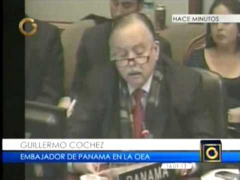 Guillermo Cochez propone cerrar la OEA