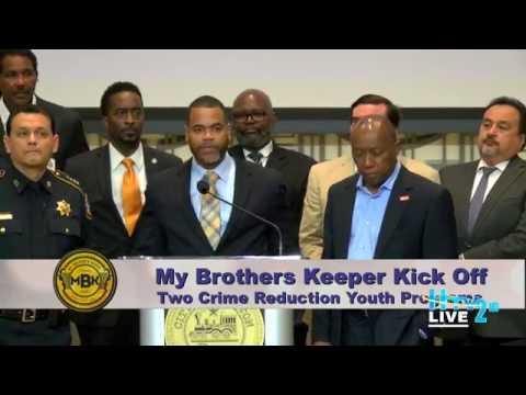 Mayor Turner - MBK Houston Justice Operations Mayoral Conference (June 2, 2017)