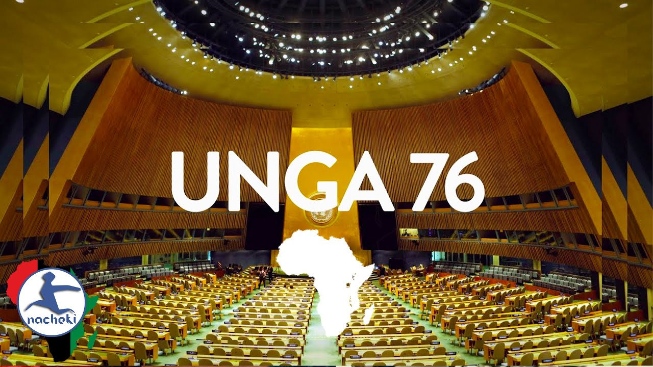 76th UN General Assembly 2021 Opening Session