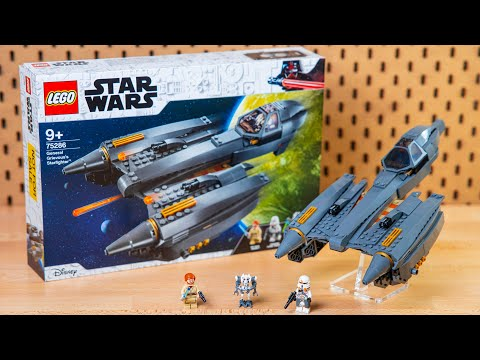 LEGO Star Wars General Grievous's Starfighter Set REVIEW - 75286