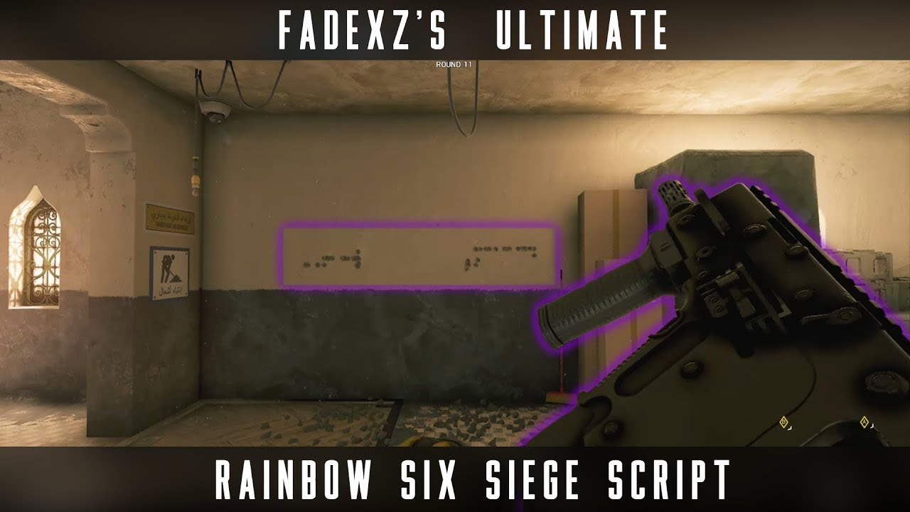 Fadexz's Ultimate Rainbow Six Siege Script [CronusMAX] by Fadexz