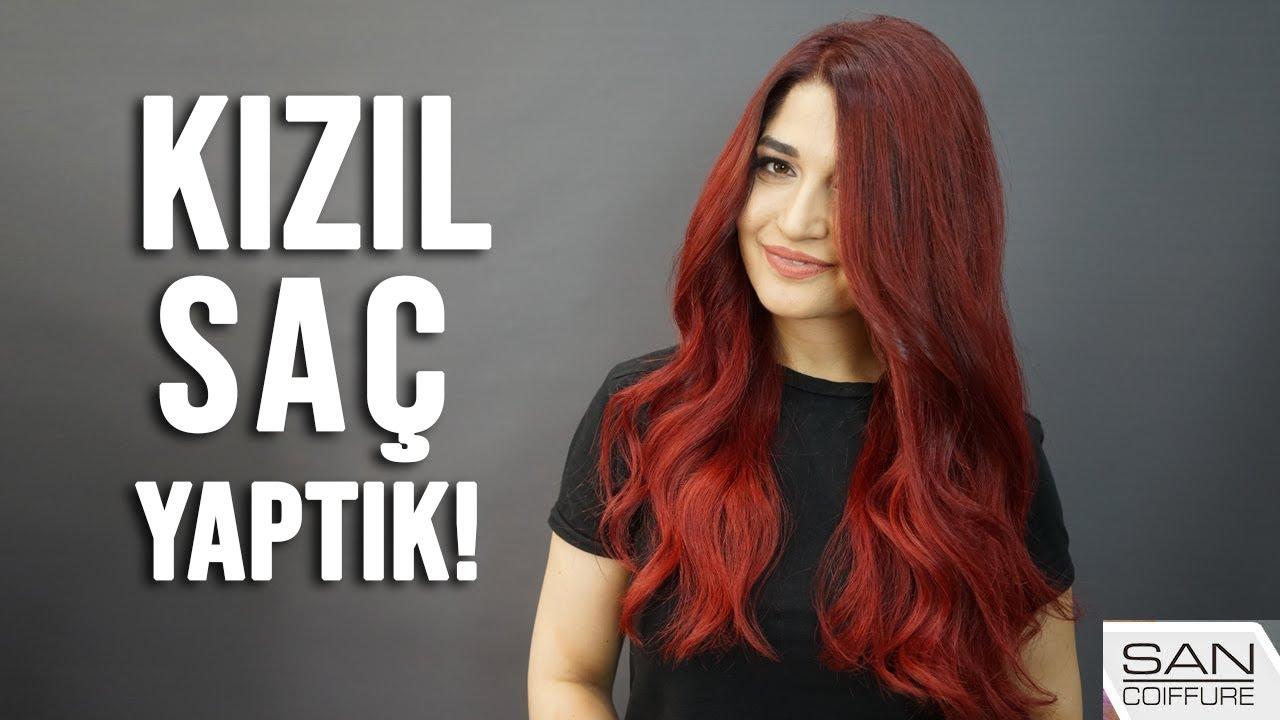 Kizil Saç Rengi Red Hair Youtube