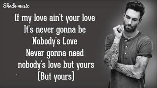 Download Lagu Maroon 5 - Nobody s Love MP3