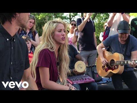 Shakira - Chantaje (Acoustic Version) [Live from Washington Square Park, New York]