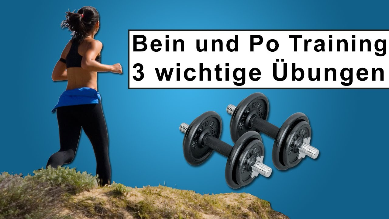 beintraining mit kurzhanteln 3 wichtige fitness bungen f r zuhause youtube. Black Bedroom Furniture Sets. Home Design Ideas