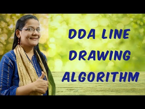 Bresenham Line Drawing Algorithm Derivation : Dda algorithm derivation in hindi youtube