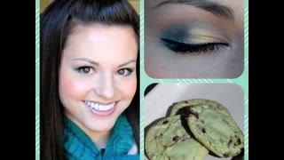 St. Patrick's Day Makeup & Mint Chip Cookies