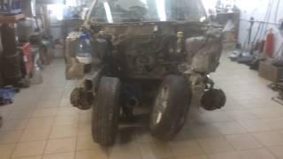 Кузовной ремонт с заменой Лонжерона Body repair
