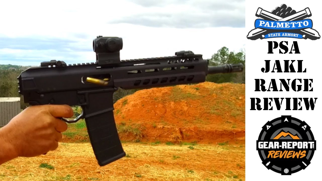 Palmetto State Armory JAKL bufferless AR Range Review