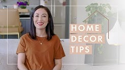 Home Decor Tips: 5 Ways to Make Your House a Home! | Susan Yara