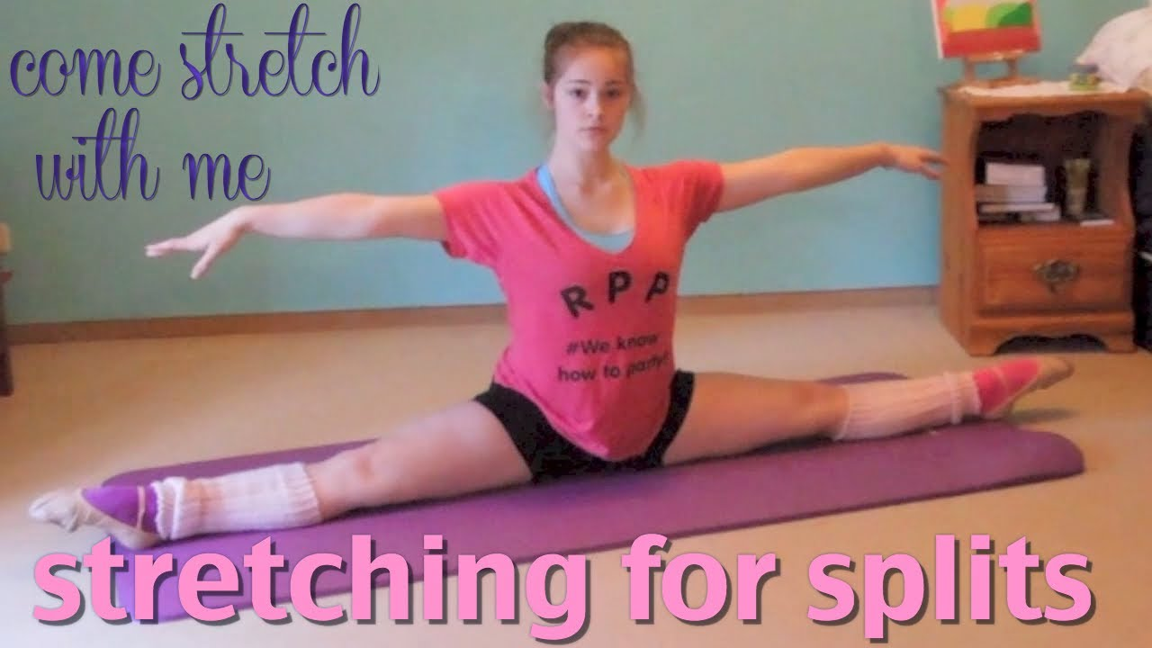 Stretches for Splits -increasing flexibility for [ballet ...