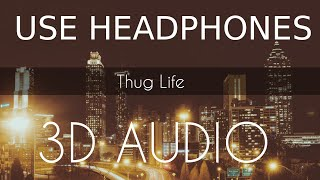 THUG LIFE   FULL SONG   3D AUDIO   Diljit Dosanjh   3d Punjabi Songs 2018