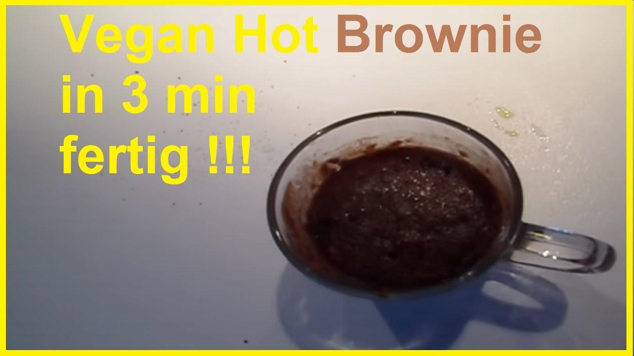 hot brownie selber machen