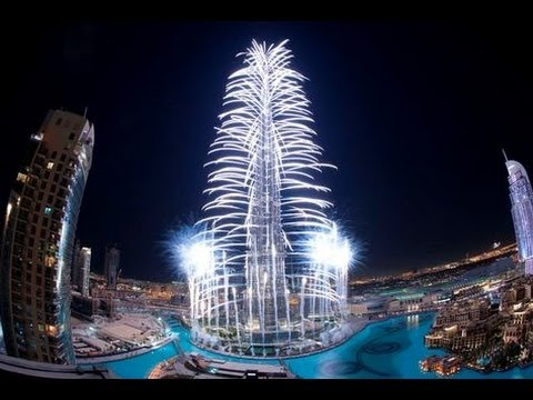 Dubai Won Expo 2020 Burj Khalifa Fireworks - YouTube