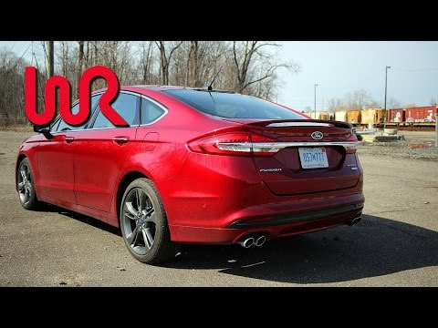 2017 Ford Fusion Sport - WR TV POV Performance Test, 0-60 in 4.99 Seconds!