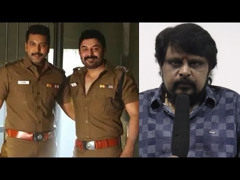 """Bogan & Anthony's script were inspired from the same African movie"" - Vikraman"