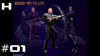 Star Trek Deep Space Nine The Fallen Walkthrough Part 01 (Sisko)
