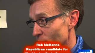 Rob McKenna Republican candidate for  Washington State Governor