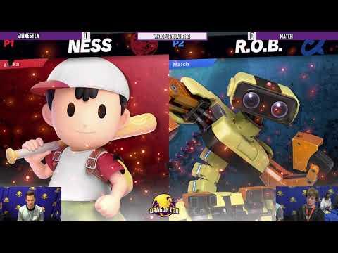 Dragon Con 2019 - Jonestly(Ness) VS Match(R.O.B.) - W. Top 16 Qualifier
