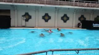 A Pool Dance Show at Tokyo's New Otani Hotel