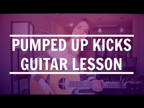 Pumped Up Kicks - Foster the People // Easy Guitar Tutorial