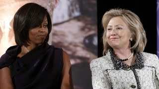 New Book Claims Michelle Obama and Hillary Clinton Do Not Get Along