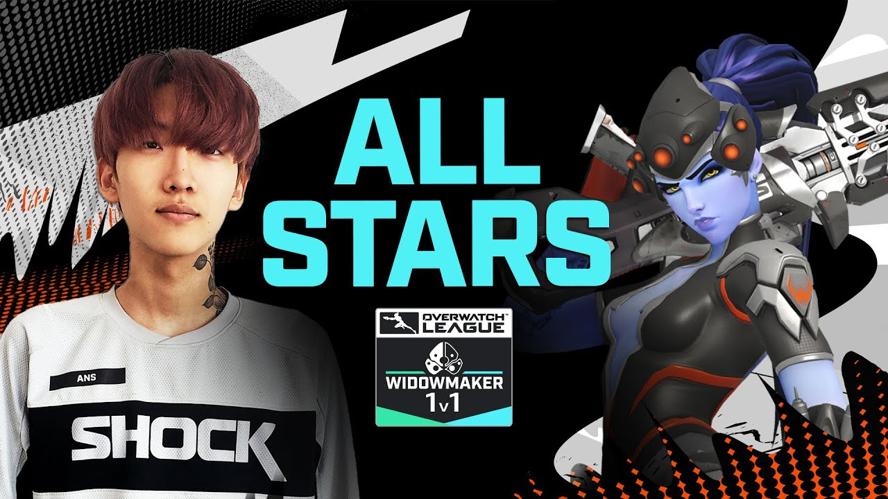 Widowmaker 1v1 | Overwatch League 2020 All-Stars | APAC