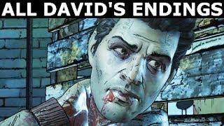 Video All David's Deaths & Endings - The Walking Dead Episode 5 (Season 3 A New Frontier) download MP3, 3GP, MP4, WEBM, AVI, FLV Juli 2018