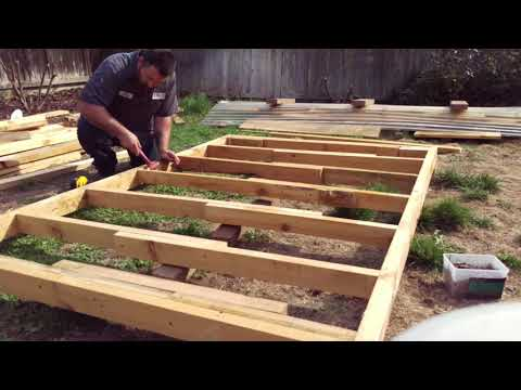 building-a-playhouse-for-my-kids-almost-for-free-(phase-one-the-floor)-diy-play-house