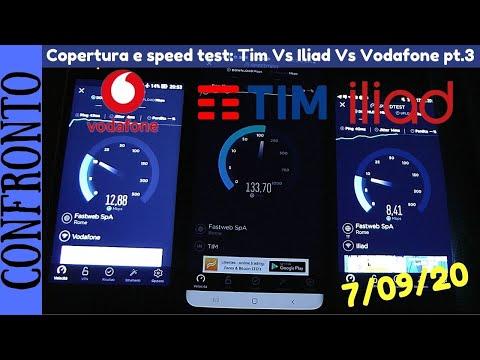 TIM VS ILIAD VS VODAFONE - Speed test e copertura della rete a Roma Ep.3